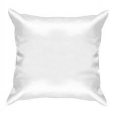 Подушка белая квадратная